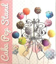 3 Tier 18 Metal Cake Pops Stand Kid Party Bridal Baby Shower Sweet Candy Fu