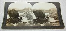 WORLD WAR 1 STEREOVIEW--TANGLED RUINS OF THE MARNE BRIDGE--KEYSTONE #V18825
