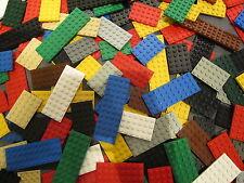 LEGO 15 x Mixed Colours Flat Plate Building Bricks 10x4 8x4 6x6 6x4 / various