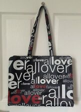 Beautiful Vintage Moschino Love Shopper Tote