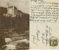 Kt. Bern - Gstaad - Palace Hotel JAHRE 1921 (S-L XX88)