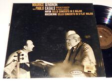 MAURICE GENDRON PABLO CASALS Haydn Boccherini NM-