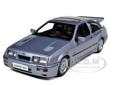 FORD SIERRA RS COSWORTH MOONSTONE BLUE 1/43 DIECAST MODEL CAR BY AUTOART 52863