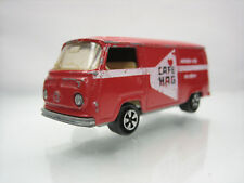 Diecast Majorette Volkswagen Fourgon Cafe Hag No.244 Red Good Condition