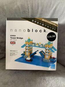 NanoBlocks Tower Bridge Sights To See Series - NBH_065 460 Pieces brand new