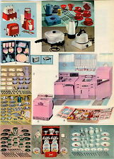 1962 ADVERT 2 PG Toy Hoover Vacuum Cleaner Coca Cola Machine Frigidaire Kitchen