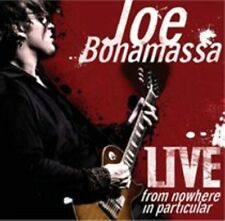 Joe Bonamassa Live From Nowhere in Particular LP Vinyl 33rpm