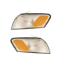 Corner Turn Signal Lights Pair Set for 97-99 Toyota Camry Left & Right