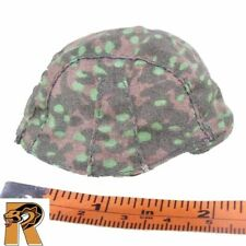 Rolf Wagner - Green Pea Dot Helmet Cover - 1/6 Scale - Dragon Action Figures
