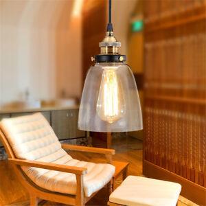 Modern Ceiling Lamp Glass Pendant Light Kitchen Chandelier Lighting Home Lights