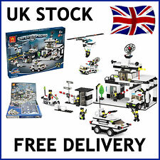 POLICE CITY STATION PRISON BUILDING BLOCKS BRICKS EDUCATIONAL CREATE COMPATIBLE