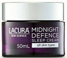 LACURA Midnight Defence Sleep Cream Anti Aging Overnight Care Reduces 50ml