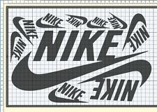 Vinyl Decals and Label for Giant Shoe Box Build NIKE or AIR JORDAN or ADIDAS