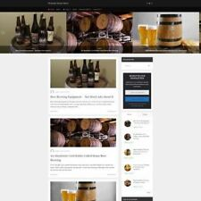 Established HOME BREWING STORE Online Business Website For Sale, Free Domain ++