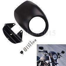 Black Motorcycle Headlight Lamp Headlamp Fairing For Harley Sportster 883 XL