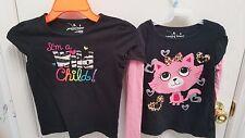2 Jumping Beans Girls Shirts Size 5