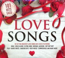 Various - 101 Love Songs - 5xCD Digipak Boxset (2018) - Brand NEW and SEALED
