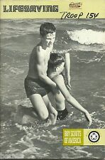 BOY SCOUT - 1977 MERIT BADGE BOOK - LIFESAVING -   XX