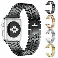 38/44mm Stainless Steel iWatch Strap Band For Apple Watch Series Bracelet Gifts