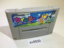 ax9830 TwinBee Rainbow Bell Adventure Pop'n SNES Super Famicom Japan