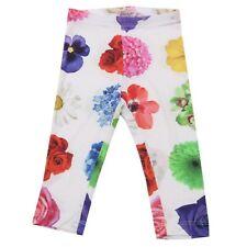 6252AC leggings MONNALISA white/multicolor pants kids