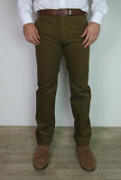 Mens Ex M&S Corduroy Trousers Straight Fit  With Added Stretch