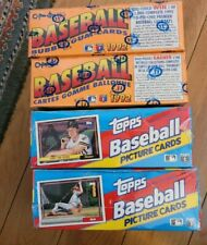 (4) 1992 Topps & O-PEE-CHEE Sealed Boxes (2 of Each) - 36 Packs Each Box = 144
