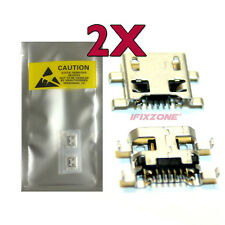 2 X New Micro USB Charging Sync Port CHarger LG K7 K330 MS330 LS665 LS675 USA
