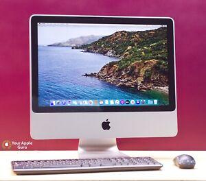 20 inch iMac - GIGANTIC 2TB HD - macOS-2019 - KB+M+WiFi+DVD - WARRANTY