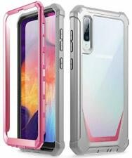 Samsung Galaxy A50 Case Poetic Ultra Hybrid TPU Bumper Shockproof Cover Pink