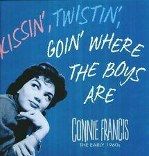 """CONNIE FRANCIS """"KISSIN TWISTIN GOIN WHERE THE BOYS ARE"""" BOX 5 CD SIGILLATO  RARO"""