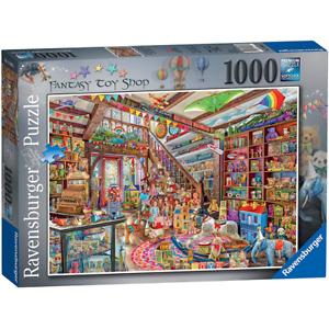 Ravensburger The Fantasy Toy Shop 1000 Piece Jigsaw Puzzle