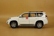 1/18 NEW Toyota Landcruiser Land Cruiser Prado white color + gift