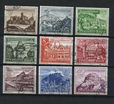 German Reich WW II : Winter Relief Fund set from 1939 - used
