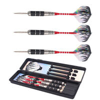 3Pcs of Steel Tip Darts Tungsten Barrel Aluminium Shafts Professional Dart Set