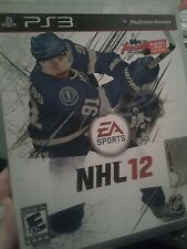 ps3 game NHL12