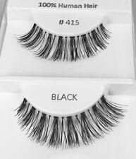 3 PR #415 Most Popular! Drag Queen, Showgirl, Cross Dresser, Real Hair Eyelashes
