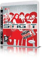 DISNEY SING IT! HIGH SCHOOL MUSICAL 3 + 2 MICROFONI PS3 IT