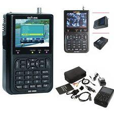 SATLINK WS-6906 HD 3.5 Inch LCD DVB-S Digital Satellite Signal Finder Meter-New