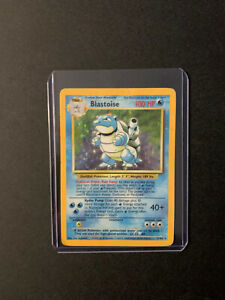 Blastoise Holo Rare Pokemon Card BASE SET WOTC 2/102