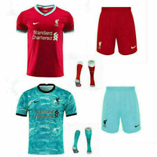 Liverpool Home Away Third 2020-21 Little Kids Football Shirt Soccer Kit