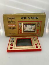 NINTENDO GAME AND & WATCH Mickey Mouse w/ BOX 1981 JAPAN! Fast Free Shipping!