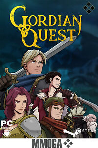 Gordian Quest - PC Steam Spiel Download Code Einzelspieler - DE/Worldwide