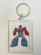 OPTIMUS PRIME Vintage Transformers Comic Poster Key Ring Chain Keyring