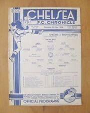 Southampton Football Reserve Fixture Programmes (Pre-1950)