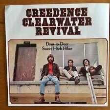 """Creedence Clearwater Revival - Door To Door 7"""" Vinyl"""