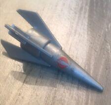 Missile Nose Cone (silver) Vintage 1988 GI Joe Cobra IMP Vehicle Part Lot B