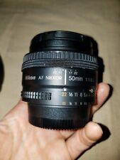 Pre-Owned/Used only a few times Nikon AF Nikkor 50mm 1:1:8 D Lens & Ultraviolet