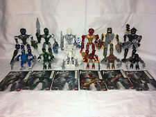 Lego Bionicle 2006 Toa Inika Matoran Lot Complete 8727 8728 8729 8730 8731 8732