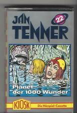 JAN TENNER MC - Folge 22 Planet der 1000 Wunder Kiosk Hörspiel MC